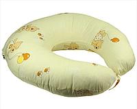 Подушка для беременных и кормления (желтая) Руно