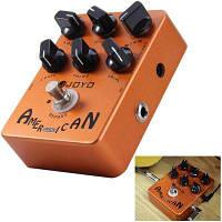 ДЖОЙО JF-14 правда обход дизайн американский звук Усилитель симулятор гитары педаль эффектов с 6 регулируемые ручки 41666