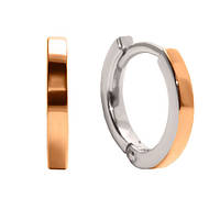 Серебряные серьги с золотой накладкой Саянна 000035893