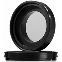 37мм УФ-фильтр+Крышка объектива Набор для xiaomi Yi Спортивная камеры Чёрный