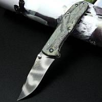 Sanrenmu 7007 лук-СГТ карман линия замок складной нож лезвие из нержавеющей стали Зелёный