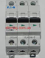 Автоматический выключатель Moeller PL 4-C 40А/3