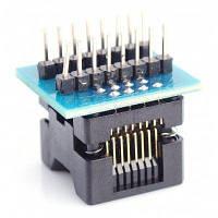 Высокое качество DIP16 sop16 корпуса в гнездо программирования модуль конвертера Синий и чёрный