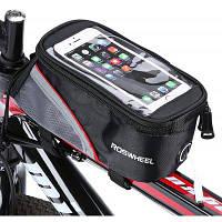 Roswheel 12496 сумка для передней верхней трубки рамы горного велосипеда L