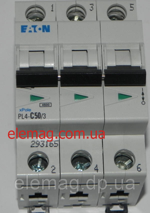 PL4-C50/3 Eaton (Moeller) Автоматический выключатель