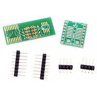 Отличное качество SOP8 корпусе dip8 простого преобразователя платы модуль Синий и Зеленый