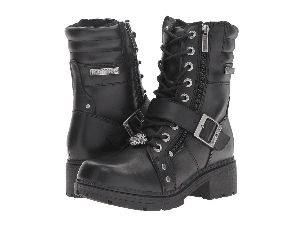 Ботинки/Сапоги (Оригинал) Harley-Davidson Talley Ridge Black