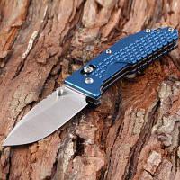 Sanrenmu 7063 ППК-LK Карманный Ось Замок Складная нож Светло-синий