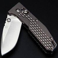 Sanrenmu 7063 ППК-LK Карманный Ось Замок Складная нож Серый