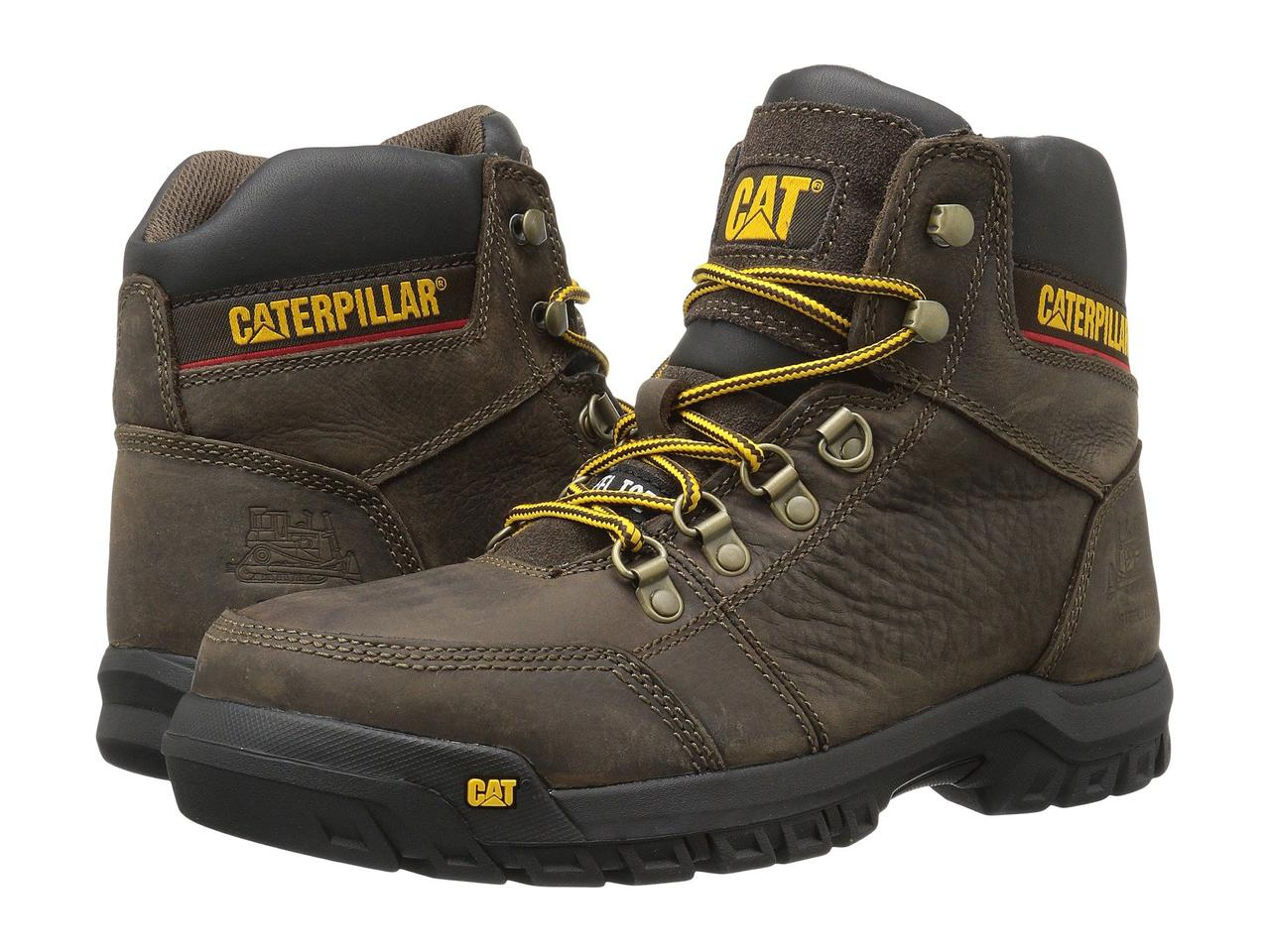 Ботинки/Сапоги (Оригинал) Caterpillar Outline ST Seal Brown
