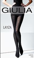 Женские колготки теплые с рисунком LAYZA 120 MODEL 3, фото 1