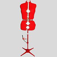 Манекен портновский раздвижной женский размер 50-58, фото 1