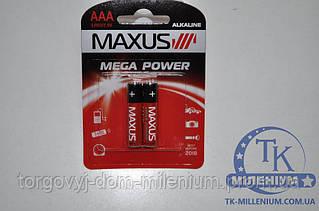 Батарейки MAXUS  AAA цена за 2-шт. 0566