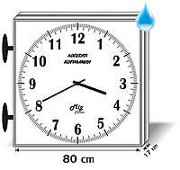 Часы вторичные стрелочные наружные двухсторонние Миг-80У2