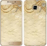"""Чехол на Samsung Galaxy C5 C5000 Кружевной орнамент """"2160c-301-328"""""""
