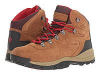 Ботинки Сапоги (Оригинал) Columbia Newton Ridge Plus Waterproof Amped  Elk Mountain Red a23cba6148726