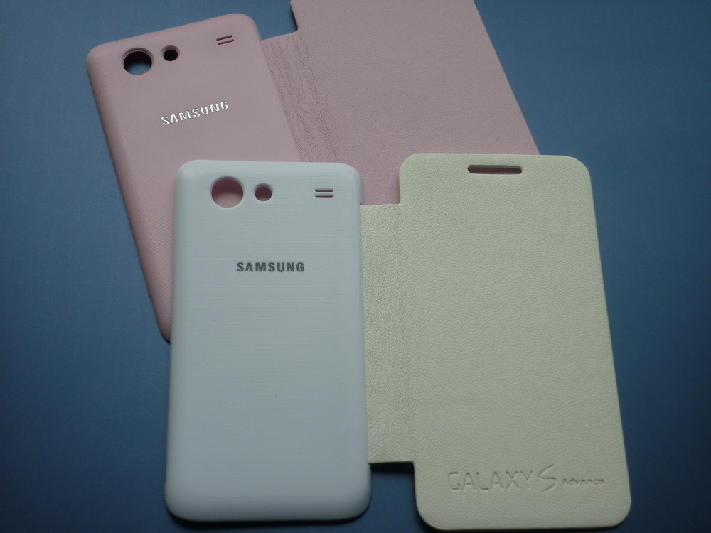 Чехол-книга Flip Cover для Samsung S Advance I9070