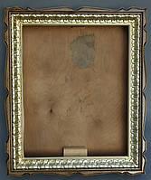 """Киот для иконы фигурный из ольхи с багетом """"под золото""""., фото 1"""