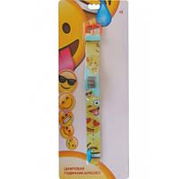 Часы-браслет цифровые TBL Emojis Голубые (EMJ30702)