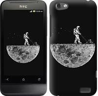 "Чехол на HTC One V t320e Moon in dark ""4176c-227-328"""
