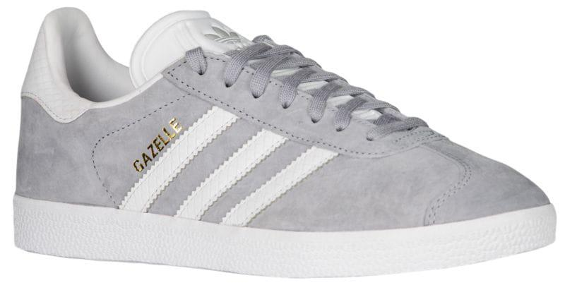 Кроссовки Кеды (Оригинал) adidas Originals Gazelle Mid Grey White Gold  Metallic ae892aba7bc
