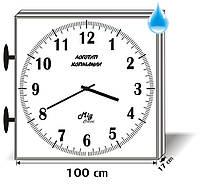 Часы вторичные стрелочные наружные двухсторонние Миг-100У2