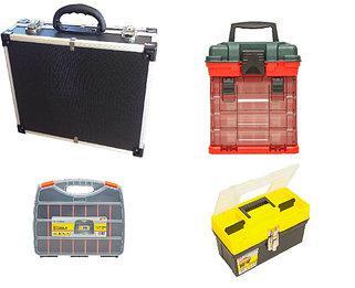 Ящики, кейсы для инструмента, органайзеры