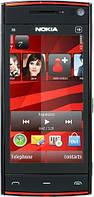 Мобильный телефон NOKIA X6 (Black-red)