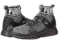 Кроссовки Кеды (Оригинал) PUMA Ignite evoKNIT Puma Black Quiet Shade Puma 0356f7cc713
