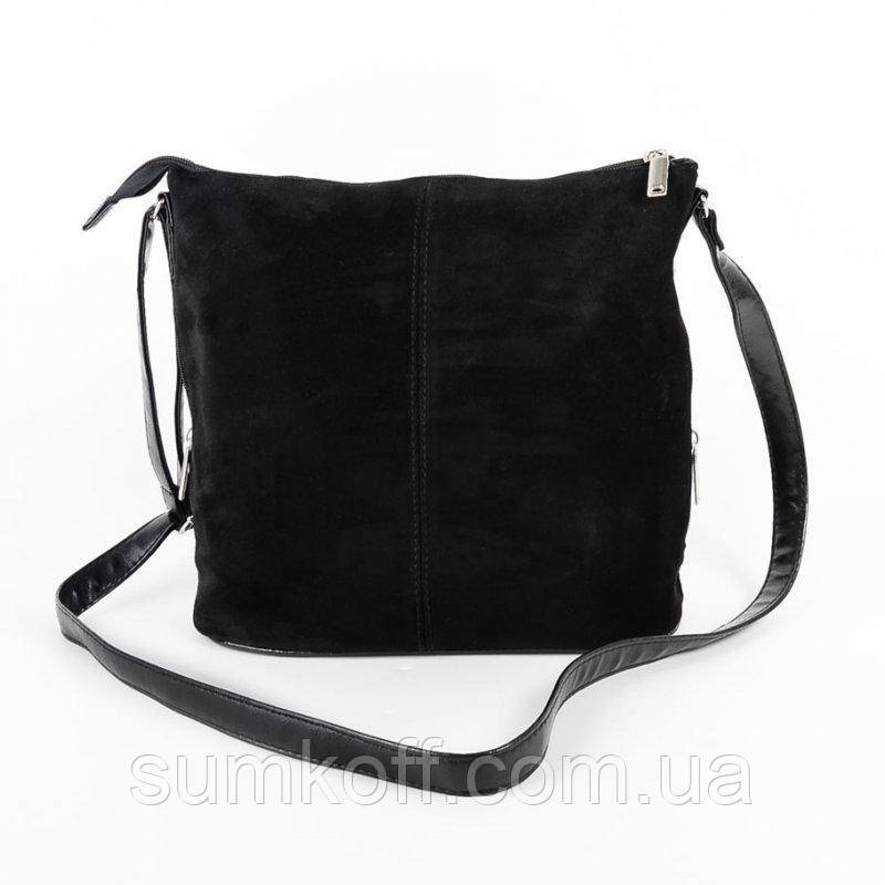 e5b0a3cc64a7 Женская молодежная сумка М78-замш/47 из натуральной замши - Интернет  магазин сумок SUMKOFF