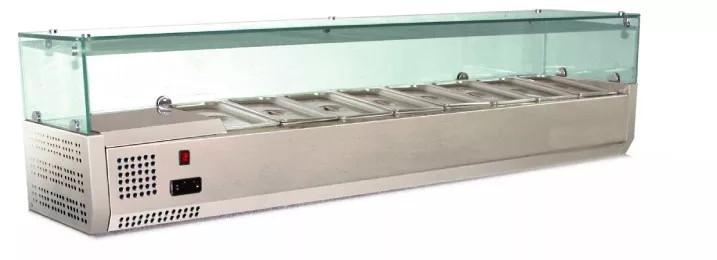 Витрина холодильная CustomCool CCSTG-1500