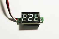Цифровой встраиваемый вольтметр постоянного тока 0-100V (три провода)