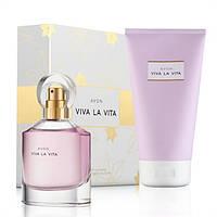 Парфюмерно-косметический набор женский Avon Viva la Vita, Эйвон Вива ла вита, 26129