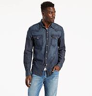Джинсовая рубашка Levis Classic Western Shirt -Dark Wash