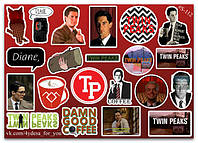 Stickers Pack Twin Peaks, Твин Пикс #112, фото 1