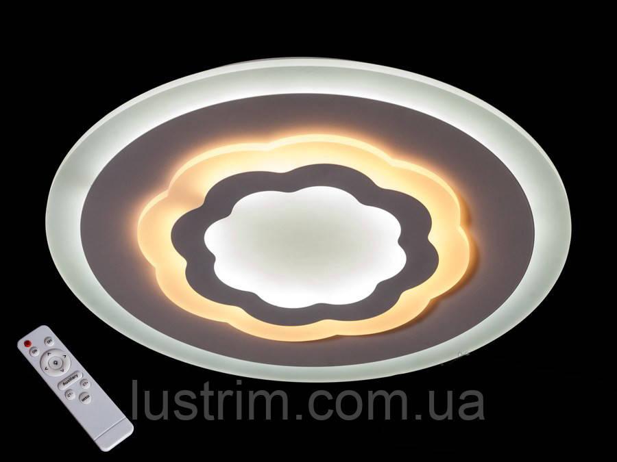 Потолочная светодиодная люстра с диммером 70W