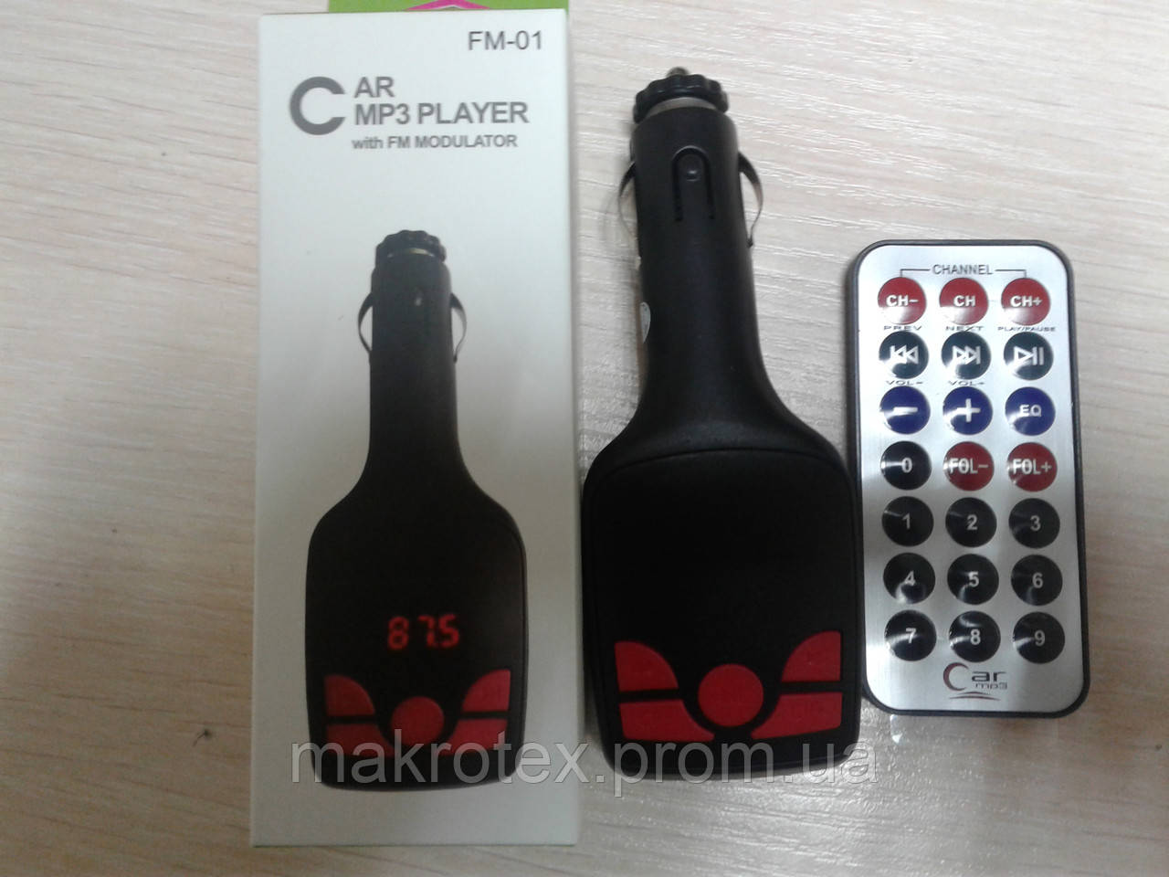 FM модулятор, Трансмиттер Car MP3 Player FM-02
