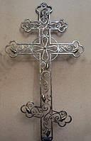 Крест ритуальный кованый арт.dr.1