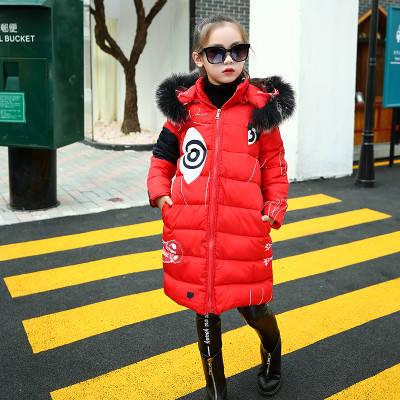 Детская куртка -пальто в крупный рисунок, фото 2