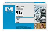 Картридж HP 51A LJ P3005/M3027/M3035 Black (6500 стр)