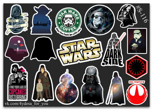 Stickers Pack Star Wars, Звёздные Войны #116
