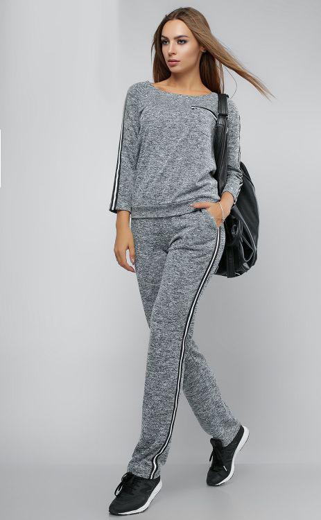 5db04b1eb078 Спортивный костюм женский 711, прогулочный спортивный костюм, женская спортивная  одежда - Irmana.com