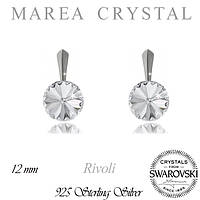 Серьги Swarovski Rivoli Crystal