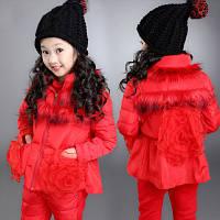 Детский костюм тёплый Роза