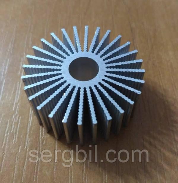 Радиатор для 3Вт светодиодов d36xh15мм, отверстие d-9мм