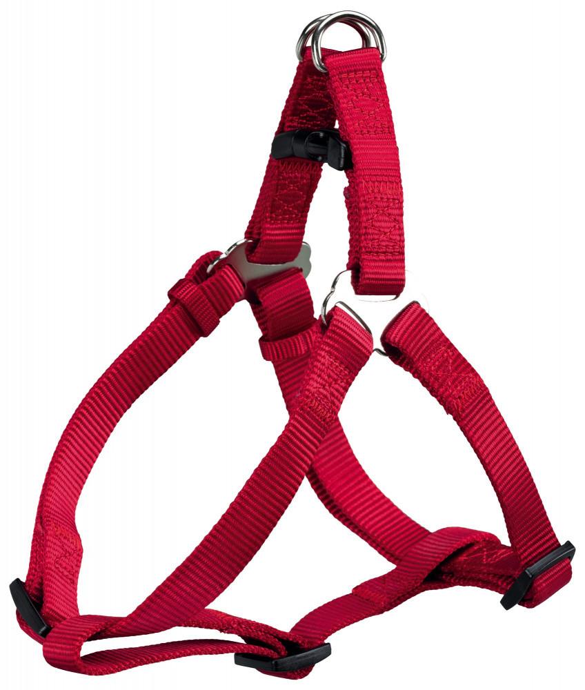 Шлея М 50-65 см One Touch красная Trixie для собак