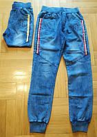 Брюки под джинс для мальчиков оптом, F&D, 4-12 лет, № 5396, фото 1
