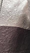 Покрывало Велюр трёх цветный ромб, фото 3
