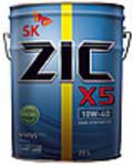 Моторное масло ZIC X5 10W-40 DIESEL (20 л) Бывшее ZIC RV 10W-40