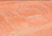 Покрывало микрофибра 200*220 Версаче Versace Турция персиковое, фото 1
